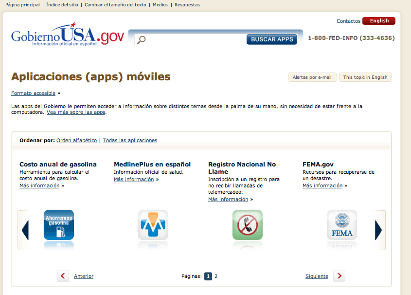 apps.gobiernousa.gov Is Available