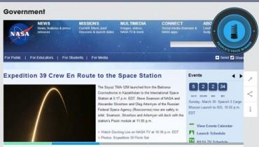 NASA Wins A Webby!