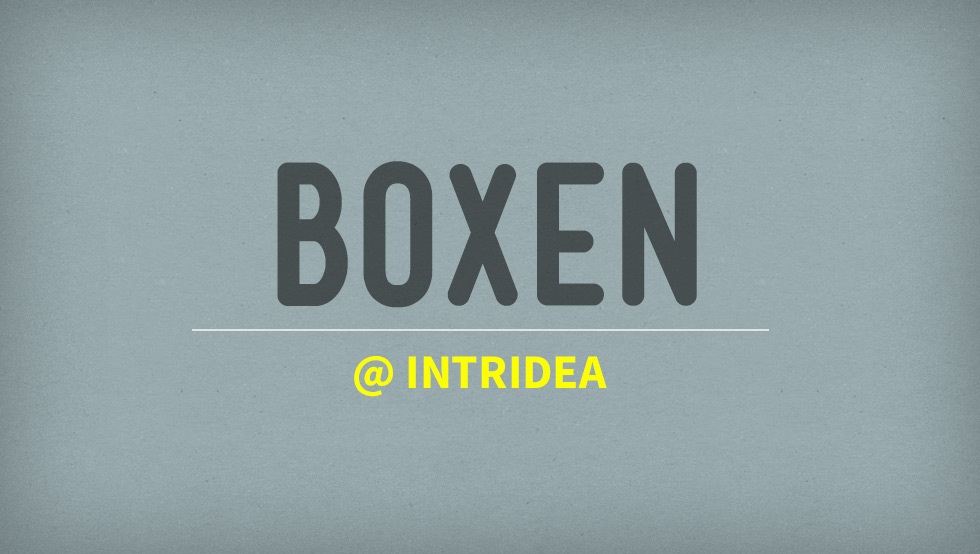Using Boxen @ Intridea