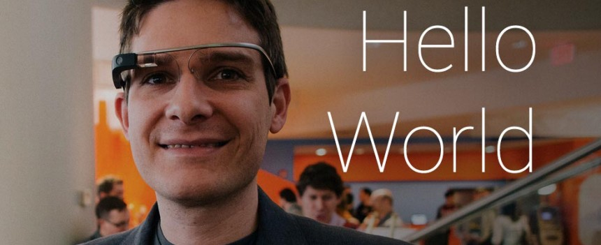 Google Glass Hello World