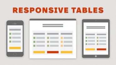 Responsive Tables: What Happens When the Data Doesn't Fit?