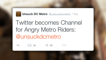 Twitter Becomes Channel for Angry Metro Riders: @unsuckdcmetro