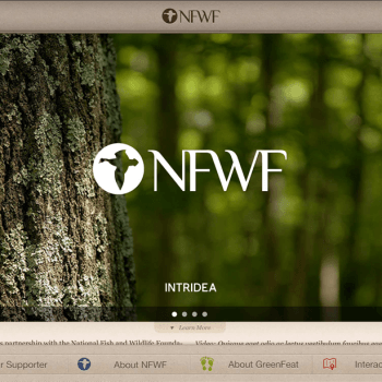 national-fish-wildlife-foundation-tablet-view