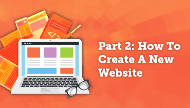 How To Create A New Website: Part 2