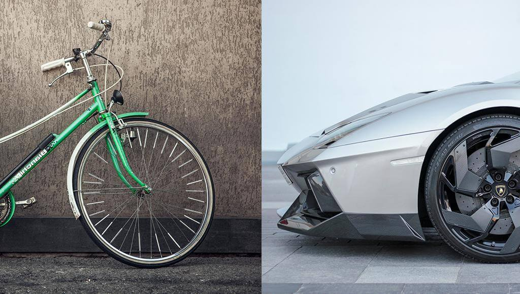 car-bike-simple-versus-complex