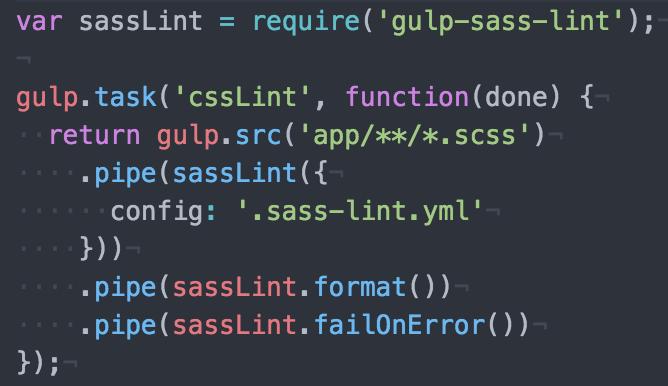 sass-code