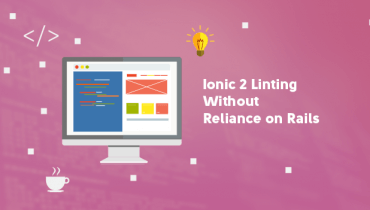 Ionic 2 Linting Without Reliance On Rails