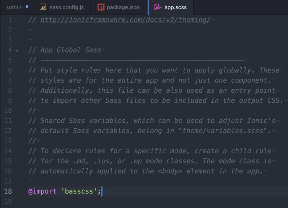 sass-modules