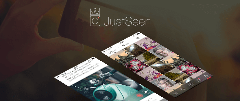 JustSeen iOS dashboard