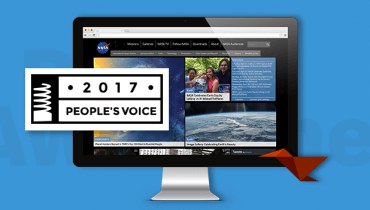 NASA Wins Webby Award for NASA.Gov