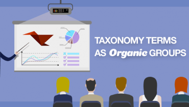 Taxonomy Terms as Organic Groups