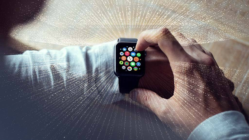 Apple watch interface