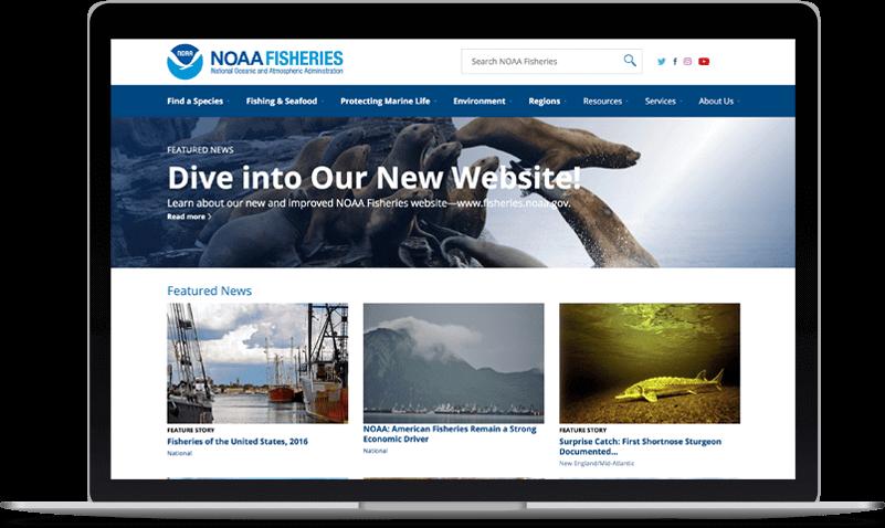 NOAA website