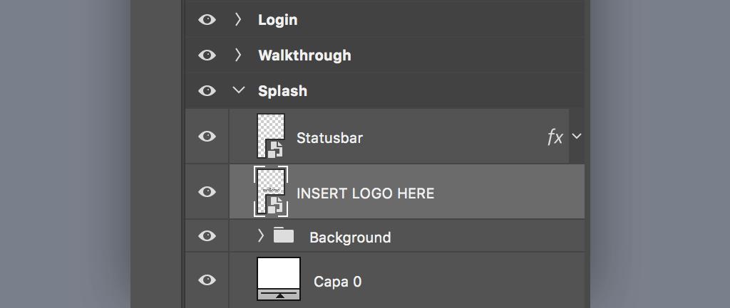 UI kit PSD file