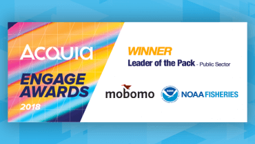 NOAA Fisheries and Mobomo win 2018 Acquia Engage Award