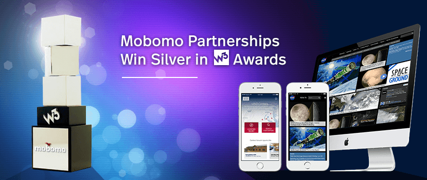 Mobomo Partnerships Win Silver in W3 Awards