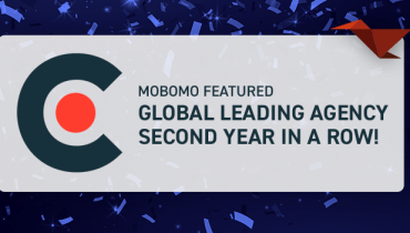 Mobomo Featured Global Leading Agency for the 2nd Year in a Row!