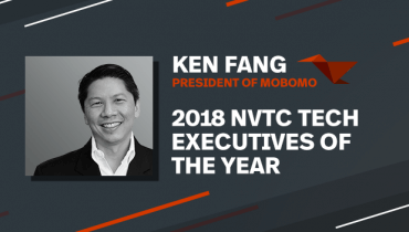 Ken Fang Honored as 2018 NVTC Tech Executive of the Year