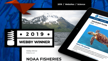 NOAA Fisheries Wins Webby Award in the Science Category