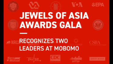"""Jewels of Asia"" Awards Gala Recognizes Two Leaders at Mobomo"