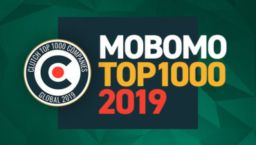 Mobomo Named Clutch Top 1000 Companies Global 2019