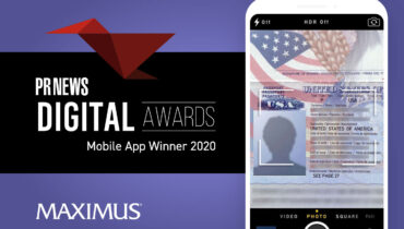 Mobomo Earns its Second 1st Place at PRNews Digital Award with Maximus