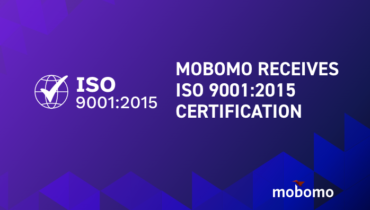 Mobomo Receives ISO 9001:2015 Quality  Management System Certification
