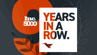 For the 9th Year in a Row, Mobomo, LLC Ranks No. 3455 on Inc. Magazine's List of Fastest-Growing Private Companies in America