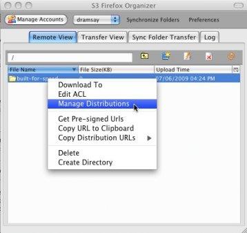 S3 Firefox Organizer
