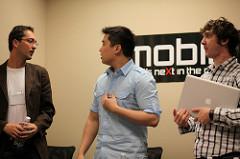 Jackson Miller, Brendan Lim, Sam Soffes at Mobile Panel
